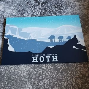 Star wars canvas decor